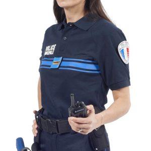 POLO BLEU POLICE MUNICIPALE 5050