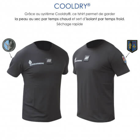 tee-shirt-gendarmerie-noir-cooldry-anti-humidite-maille-piquee