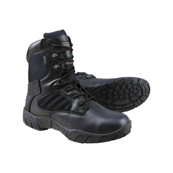 tactical-pro-1-zip-cuir-nylon-noir